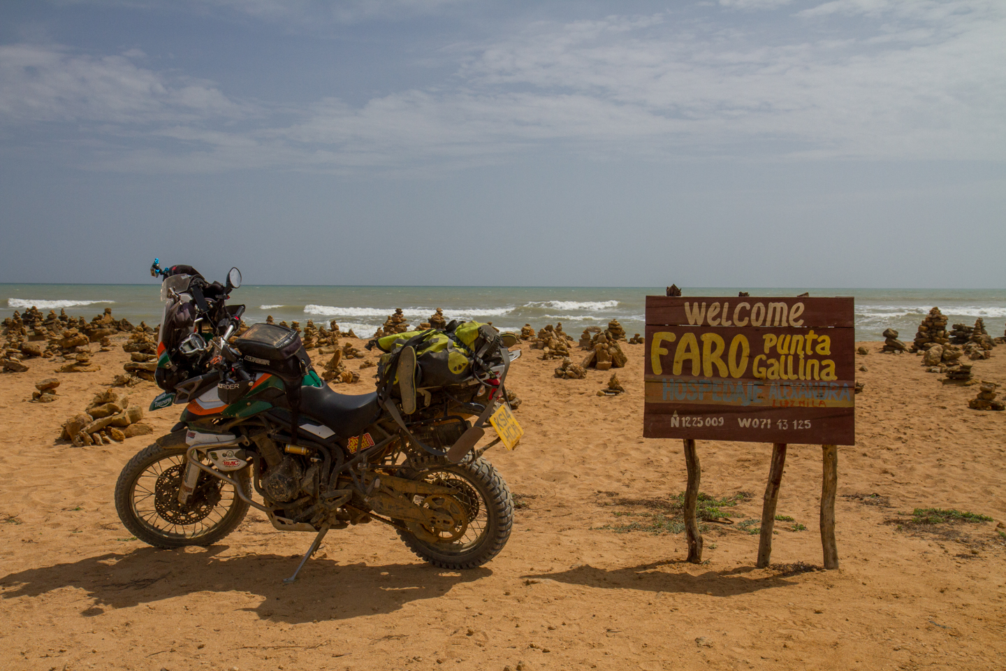Epic Rides in Colombia | Punta Gallinas (The top of South America)