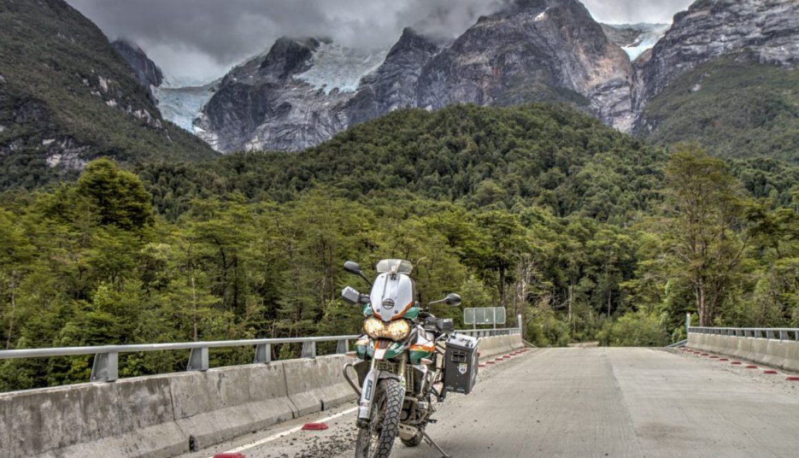 Epic Rides in Chile | Ruta X-728 (Road to Exploradores Glacier)