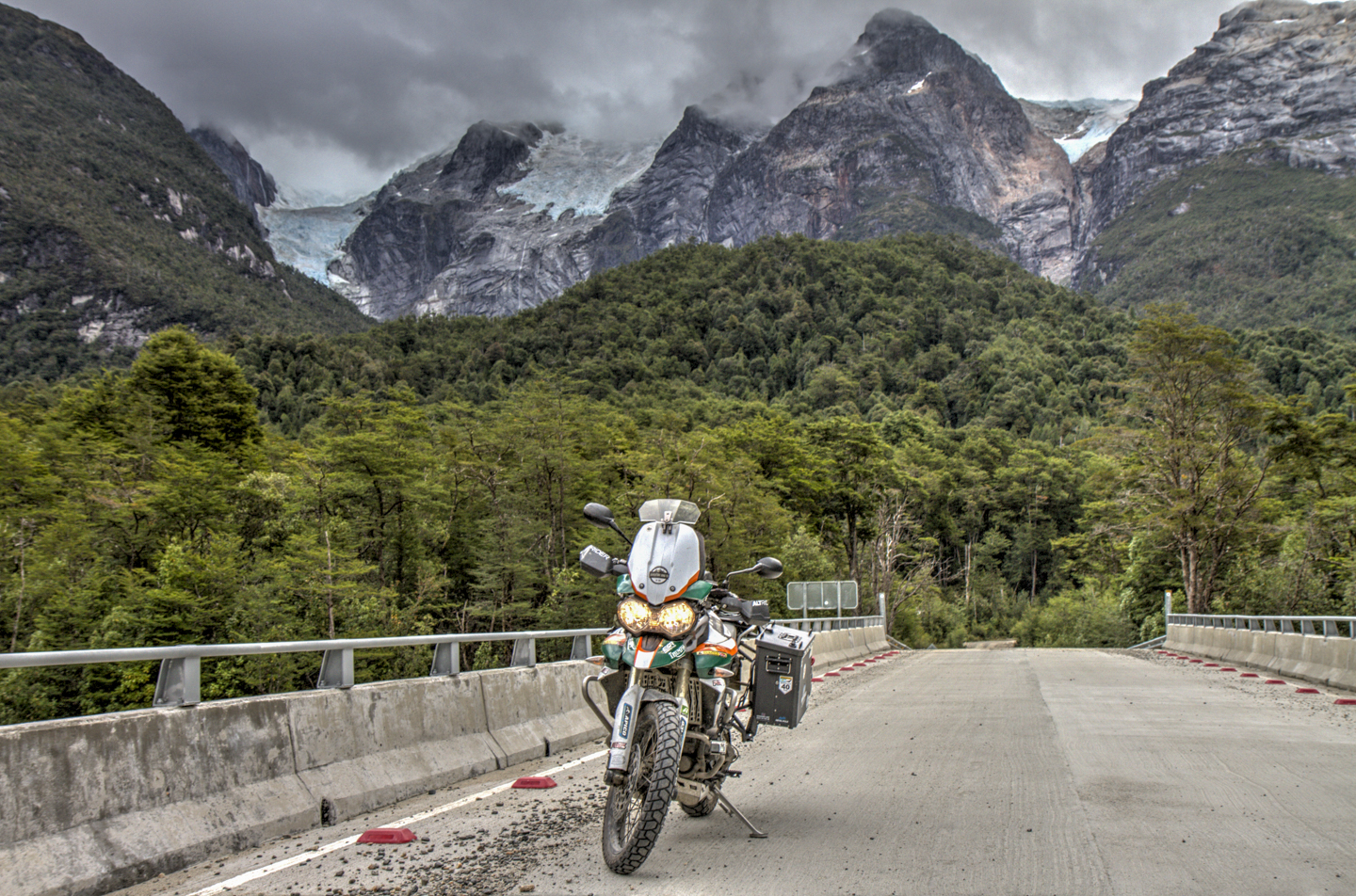 Epic Rides in Chile – Ruta X-728 (Road to Exploradores Glacier)