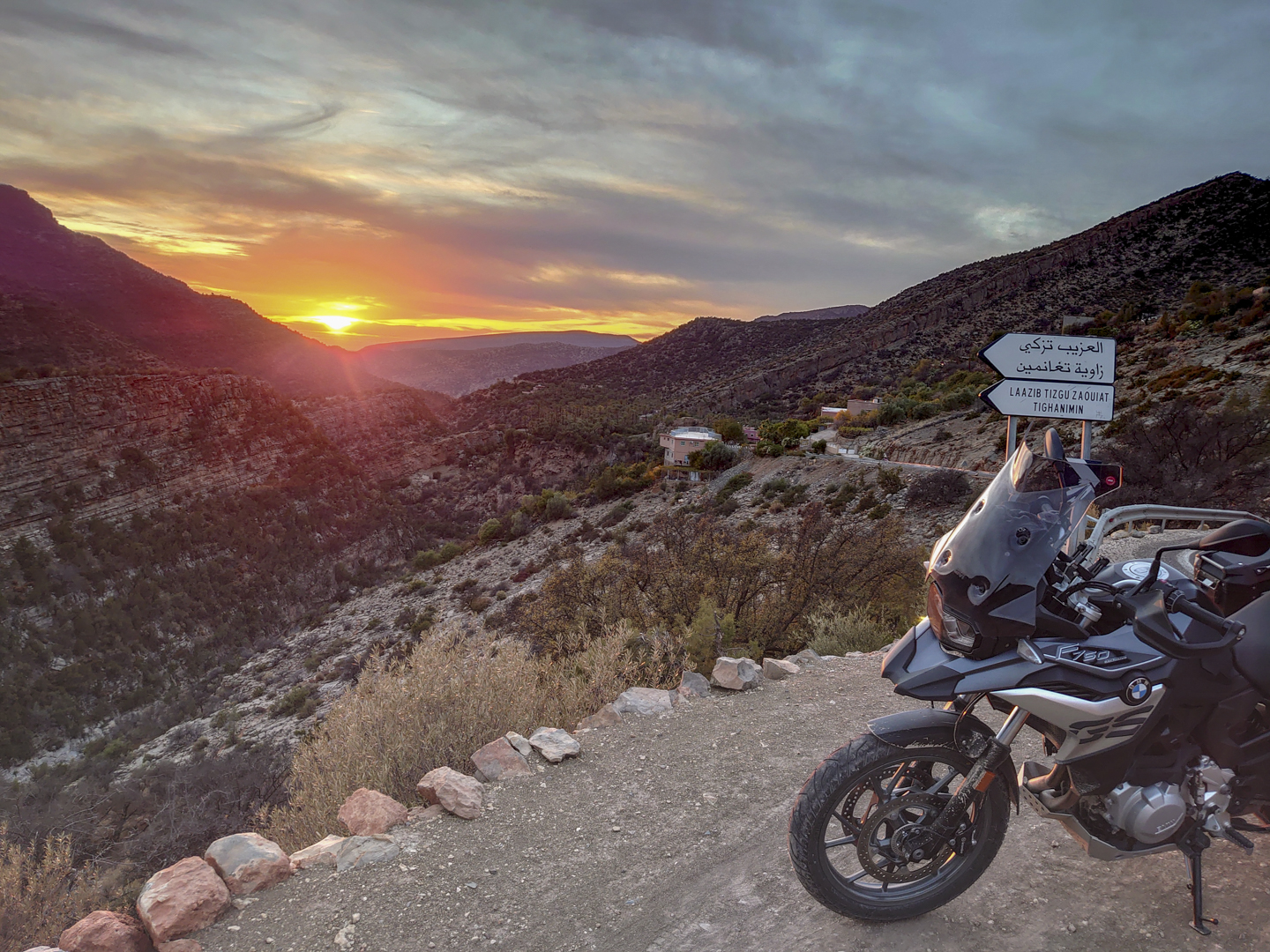 Epic Rides in Morocco | Lower High-Atlas Mountains